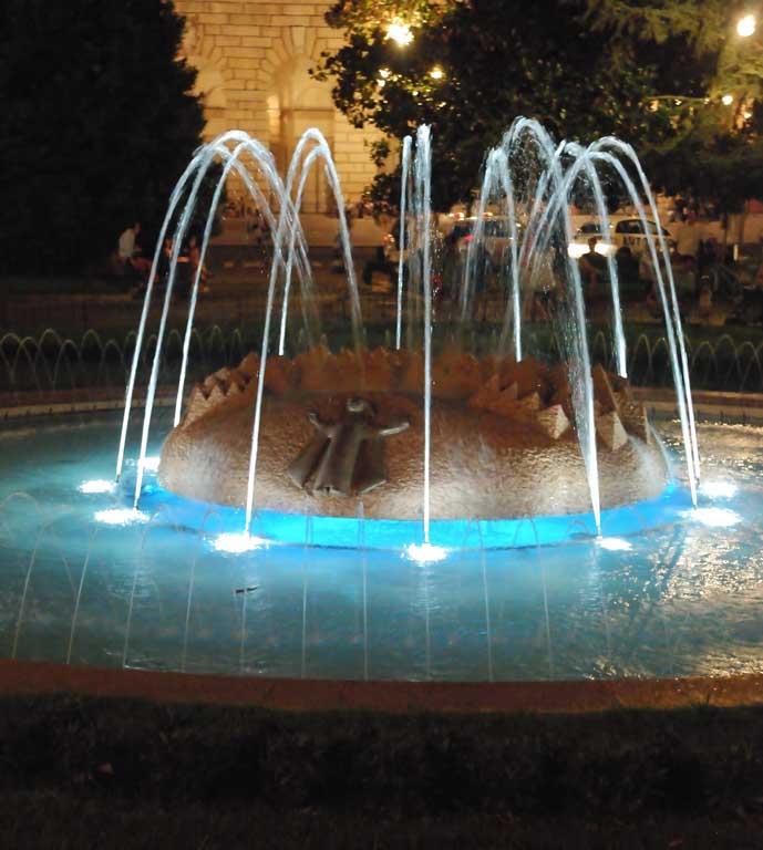 Fontana di notte :: Verona