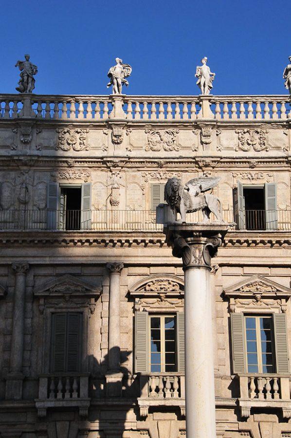 Leone di San Marco :: Verona